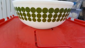 Pyrex green polka dot mixing bowl for Sale in Anaheim, CA