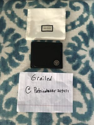 Gucci bifold wallet for Sale in Woodway, WA