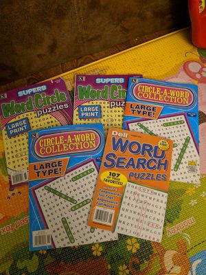 Word search puzzle books for Sale in Los Angeles, CA
