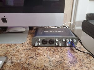 M-Audio Fast Track Pro (Audio Interface) for Sale in Vancouver, WA