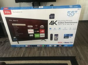 55 Smart 4k TV led for Sale in Los Angeles, CA