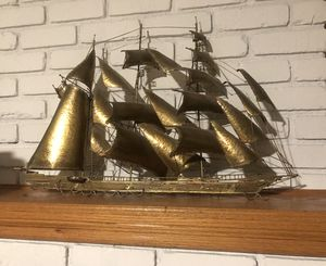 Metal Clipper Ship wall decoration for sale for Sale in Norwalk, CA