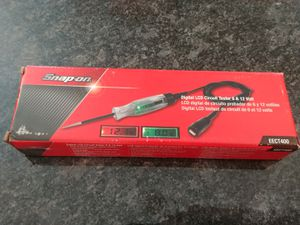 Snap-on Tools digital LCD circuit tester 12v test light for Sale in Romeoville, IL
