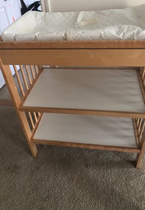 Changing table and changing pad for Sale in Alexandria, VA