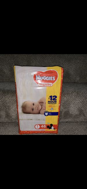 Huggies diapers sz 1 for Sale in Secaucus, NJ