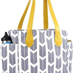 A V AMOR EST VITAE Work Tote Arrow Print | Teacher's Tote | School Tote | Multi-Purpose Tote Bag Gray for Sale in Sterling Heights, MI
