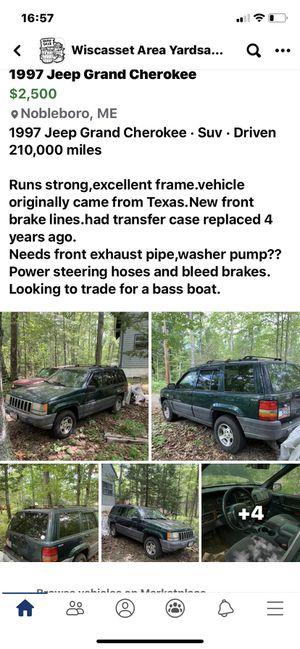 1997 Jeep Grand Cherokee for Sale in Nobleboro, ME