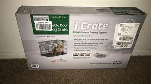 I Crate Double Door Dog Crate for Sale in Baton Rouge, LA