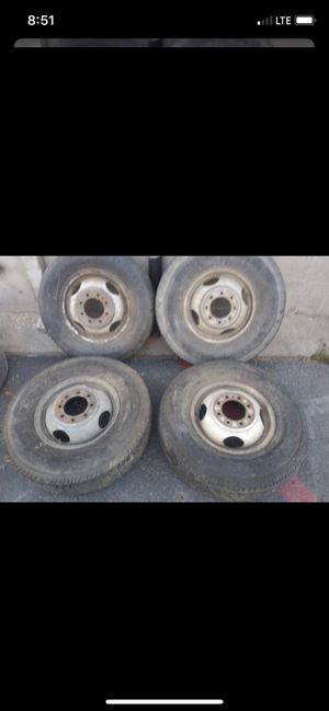 """Dually wheels for dodge or ford. 16"""" diameter for Sale in Burbank, CA"""