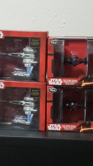 Star Wars Disney Store die cast space ship collectible toys for Sale in Seattle, WA
