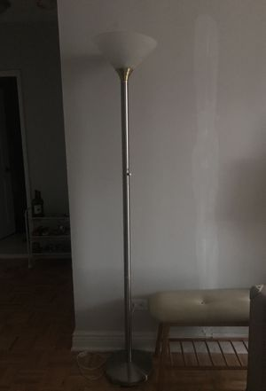 Floor lamp with dimmer for Sale in New York, NY
