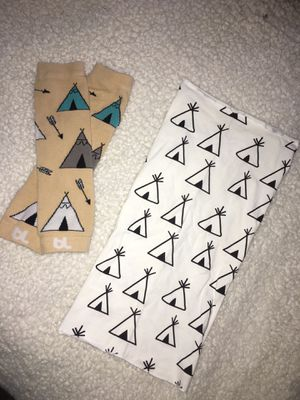 Baby Leg Warmers & Scarf Teepee Design for Sale in Grants Pass, OR