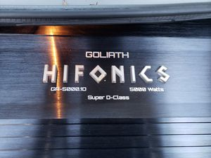Hifonics Goliath 5000.1 for Sale in Los Angeles, CA