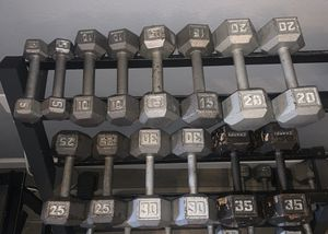 Dumbbells, pesas, gym equipment, weights for Sale in Dallas, TX