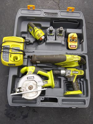 Ryobi Power tool set for Sale in Orient, OH