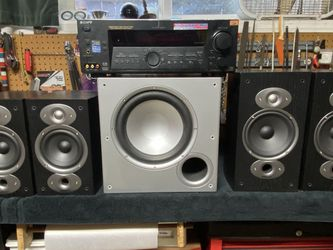 Polk Audio RTi set and Sony Receiver for Sale in Seattle,  WA