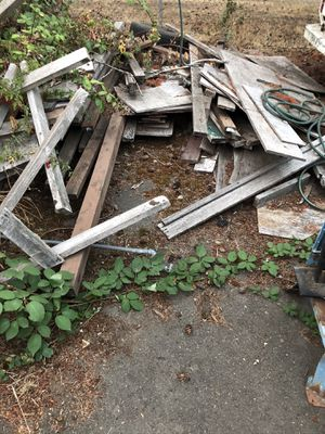Free wood pile all or nothing $000 for Sale in Tacoma, WA