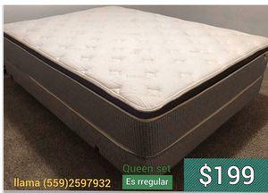 Queen set mattress for Sale in Fresno, CA