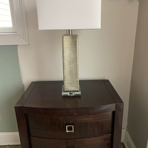 Silver Table Lamp for Sale in Morristown, NJ