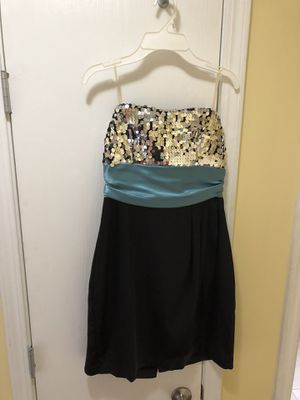 Speechless Juniors size 7 black slip dress with sequin detail for Sale in Westmont, IL