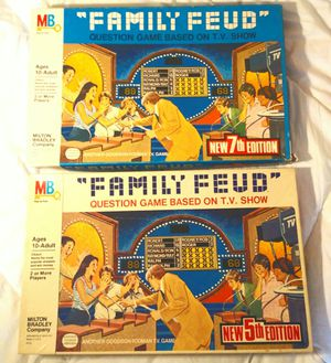 2x Vintage Family Feud board games for Sale in Norcross, GA