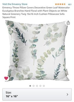 Greenery pillow case for Sale in Vancouver,  WA