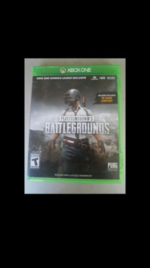 Xbox one pugb players unknown battleground for Sale in Santa Ana, CA