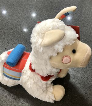 Stuffed Toy Alpaca by FAO Schwarz NEW for Sale in Fort McDowell, AZ