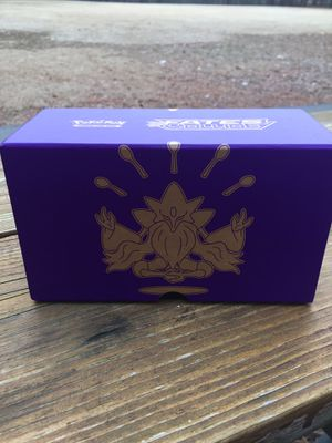 Pokemon Fates Collide empty card storage box for Sale in Brentwood, NC