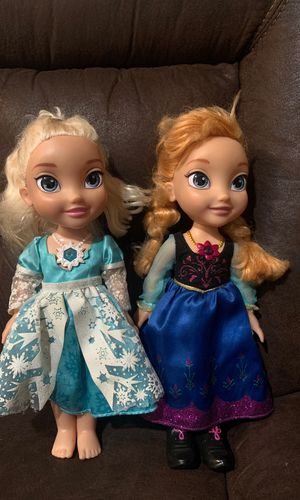 Princess Elsa and Ana for Sale in Romoland, CA