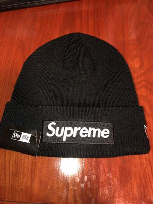 FW15 Black Box Logo Beanie for Sale in NO POTOMAC, MD