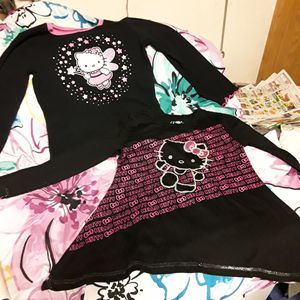 2 - Hello Kitty 6/6x Long Sleeve Shirts for Sale in Mojave, CA