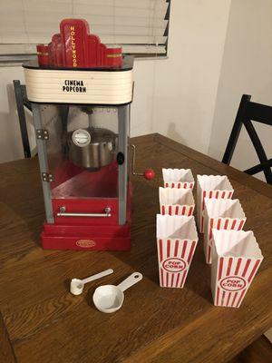 Popcorn machine & acc for Sale in Port St. Lucie, FL