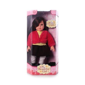 """My Beautiful Girl Fashion Doll Winter Chills 18"""" for Sale in Astoria, NY"""