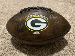 Autographed Green Bay Packers 2016 Football for Sale in Le Mars, IA