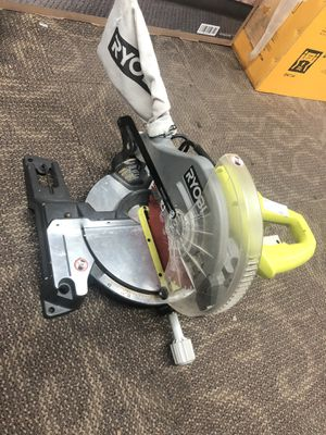 "MiterBox Saw, Tools-Power Ryobi 10"" Saw.. Negotiable for Sale in Baltimore, MD"