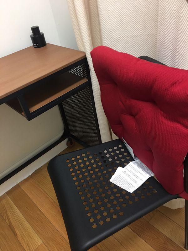 Desk bed chair wardrobe