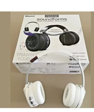 NUVUW 2 way combo BT headphone convert to Boombox for Sale in Staten Island, NY