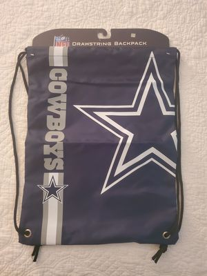Dallas cowboys drawstring backpack for Sale in Tampa, FL