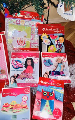 NEW American Girl Doll Craft Sets - All 6 for $35 for Sale in Gresham, OR