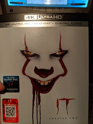 IT chapter Two 4k digital code only! Instant delivery for Sale in San Antonio, TX