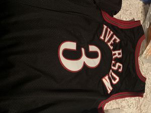 Allen Iverson Jersey for Sale in Bristol, PA