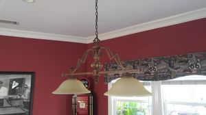 LOVELY DUAL GLASS CHANDELIER for Sale in Alhambra, CA