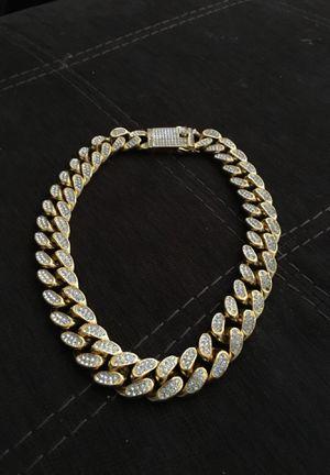 Diamond and gold chain for Sale in Aurora, IL