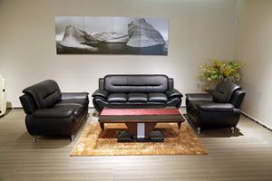 (JUST $54 DOWN) Brand New Modern Sofa, Love Seat and chair Set (Financing and Delivery available) for Sale in Carrollton, TX