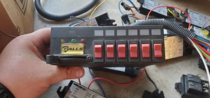 Galls 6 switch panel plus 1/2/3 stage slider for Sale in Fontana, CA