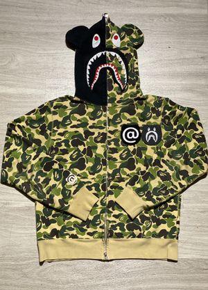 "Bape x Medicom ""bearbrick"" full zip shark hoodie for Sale in Atlanta, GA"