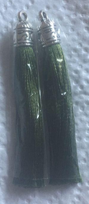 2 Army Green Craft Tassles for Sale in Hemet, CA