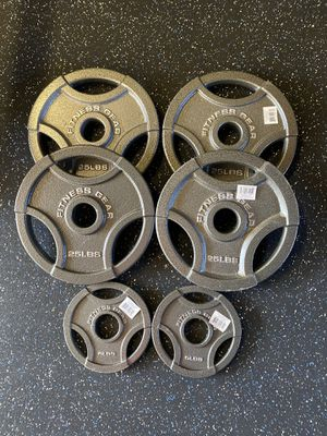 Weight plates set, home gym for Sale in Norwalk, CA