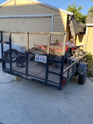 12 x 6 utility trailer good condition for Sale in Bellflower, CA
